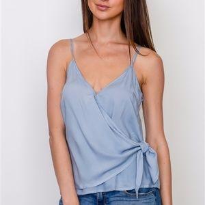 NWT Blue tank top blouse